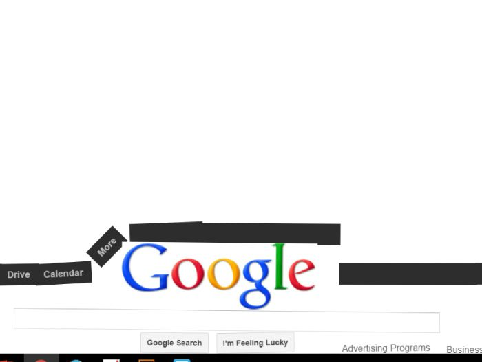 Google裏技 重力 無重力