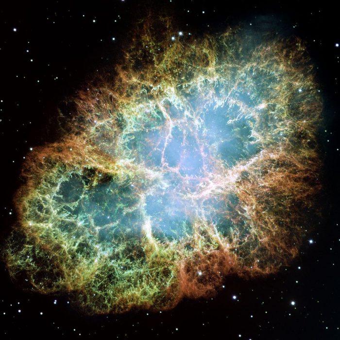かに星雲 超新星爆発の残骸
