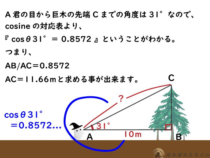星までの距離を測る三角測量方法2