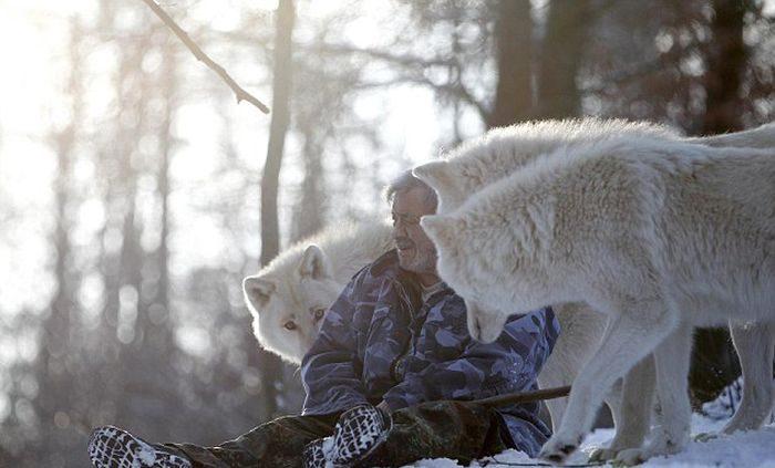 オオカミと共に暮らすヴェルナー フロイント